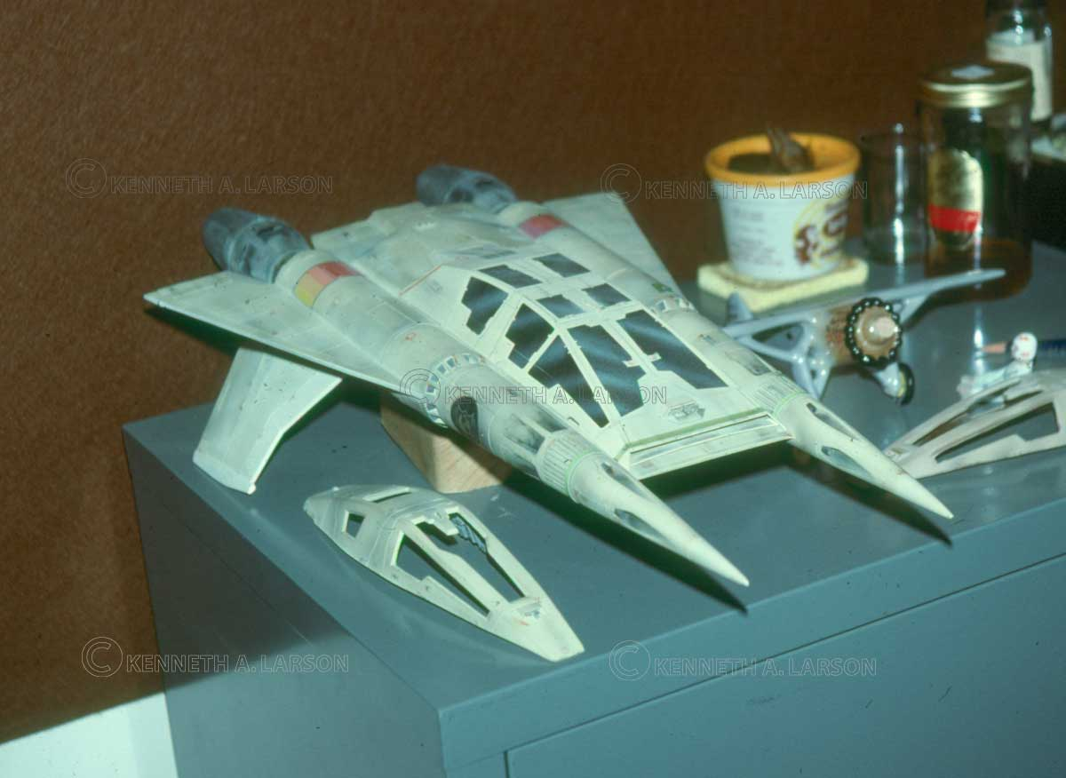 Visual Effects Model Maker - Buck Rogers in the 25th Century